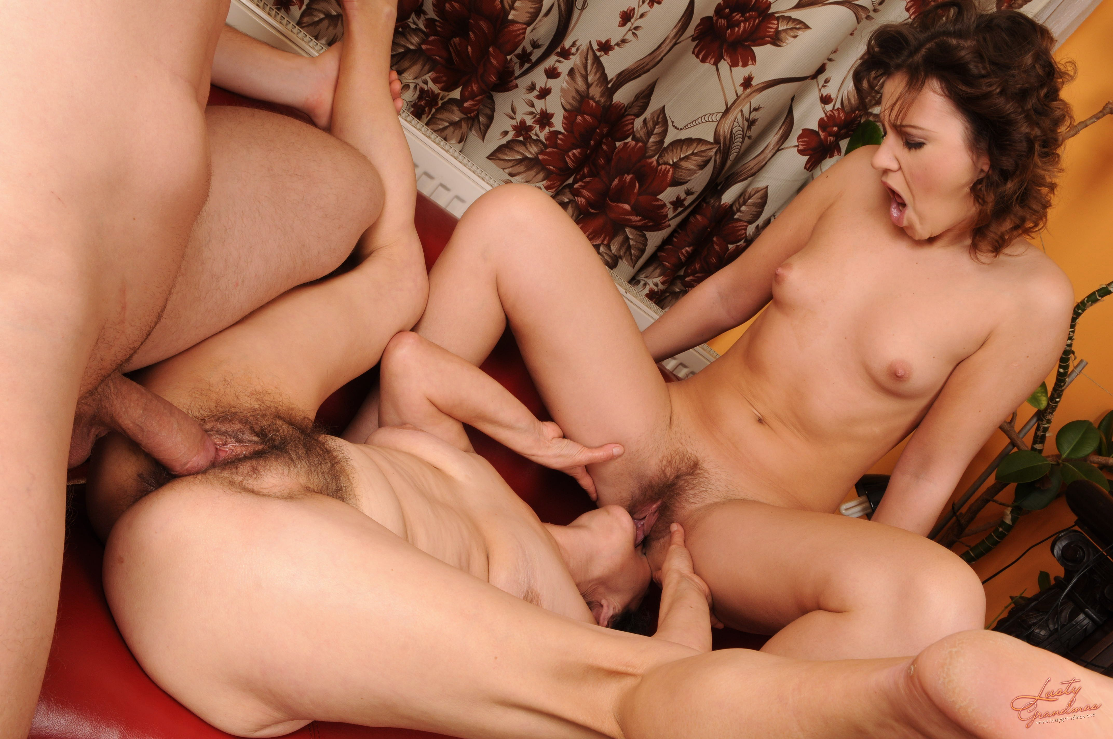 Hairy Pussy Group Sex